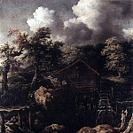 EVERDINGEN Allaert van Forest Scene With Water Mill, Spanish artists