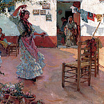 Spanish artists - Guerrero Manuel Ruiz The Flamenco Dance