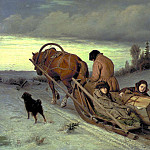 900 Classic russian paintings - Last Journey