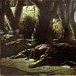 Christ in Gethsemane. 1878 Oil on canvas. 151. 5x238 TG, Vasily Perov