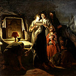 Vasily Perov - First Christians in Kiev. 1880 156h243 timing
