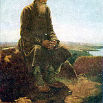 Vasily Perov - peasant in the field. H. 1876, m. 62. 5h50 Riga