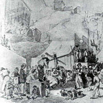Holiday in the suburbs of Paris. Sketch. 1864 Fig. 33. 4h51. 9 RM, Vasily Perov