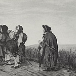 Pilgrims. On a pilgrimage. 1867 Fig. 31, 6h47, 3 RM, Vasily Perov
