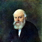 Portrait of the composer PS Campioni. 1872 Astrakhan, Vasily Perov