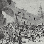 Market in Moscow. 1868 Fig. 29, 8h48, 7 GTG, Vasily Perov