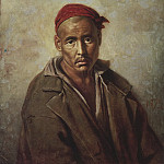 The head of Kyrgyzstan – convict. H. 1873, m. 64, 5h58, 5 RM, Vasily Perov