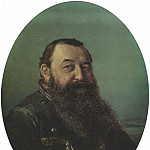 Vasily Perov - Portrait of NF Rezanova. H. 1868, 63h53 am Chelyabinsk