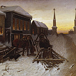 Vasily Perov - Last Tavern at Town Gates. 1868