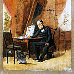 Master drawing. Esk. 1863 H., am 25. 5h18 Ivanovo, Vasily Perov