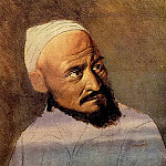 Vasily Perov - The head of the Kirghiz. Sketch. 1870 Irkutsk