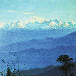 Himalayas in the evening. 1875, Vasily Vereshchagin