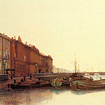 Weretshchagin_Piotr_Petrovitch_A_View_Of_St_Petersburg, Vasily Vereshchagin