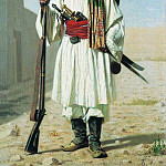 Afghan. 1867-1868, Vasily Vereshchagin