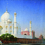 Mausoleum of the Taj Mahal. 1874-1876, Vasily Vereshchagin