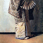 Japanese woman. Around 1904, Vasily Vereshchagin