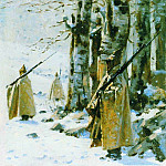 Picket in the Balkans. Around 1878, Vasily Vereshchagin