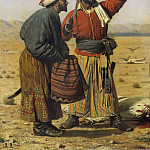 After good luck. 1868, Vasily Vereshchagin