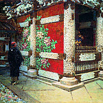 Shintoistsky temple in Nikko. Around 1904, Vasily Vereshchagin