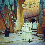 in Jerusalem. Royal tombs. 1884-1885, Vasily Vereshchagin