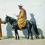 Kalmyk Lama. 1869-1870, Vasily Vereshchagin