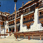 Hemis Monastery in Ladakh. 1875, Vasily Vereshchagin