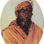 Vasily Vereshchagin - Muslim - servant. 1882-1883