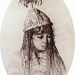 Vasily Vereshchagin - Kyrgyz girl