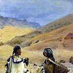 Living in West Tibet. 1874-1876, Vasily Vereshchagin