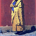 Kalmyk Lama. 1873, Vasily Vereshchagin