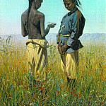 Kids tribe salty. 1869-1870, Vasily Vereshchagin