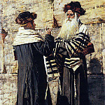 Two Jews. 1883-1884, Vasily Vereshchagin