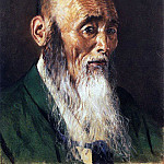 Japanese priest. 1903-1904, Vasily Vereshchagin