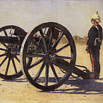 cannon. 1882-1883, Vasily Vereshchagin