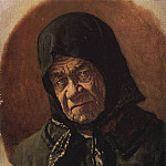 Vasily Vereshchagin - old woman beggar ninety-six years. Around 1891