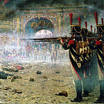 Vasily Vereshchagin - In Defeated Moscow (Arsonists or shooting in the Kremlin). 1897-1898