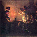 Vasily Vereshchagin - Interrogation defector. Around 1901