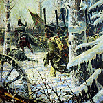 In the bayonets Ur Ur . 1887-1895, Vasily Vereshchagin