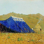 Chinese tent. 1869-1870, Vasily Vereshchagin