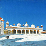 Vasily Vereshchagin - Mochi Masjid (Pearl Mosque), Agra. 1874-1876