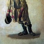 Vasily Vereshchagin - Burlak, cap in hand. 1866