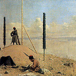 Vasily Vereshchagin - Picket on the Danube. 1878-1879