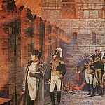 Vasily Vereshchagin - In the Kremlin - fire. 1887-1898
