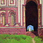 Gates near the Qutub Minar. Old Delhi. 1875, Vasily Vereshchagin