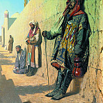 Vasily Vereshchagin - Beggars in Samarkand. 1870