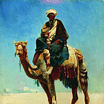 Vasily Vereshchagin - Arab on a camel. 1869-1870