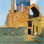 Gur-Emir. Samarkand. 1869-1870, Vasily Vereshchagin