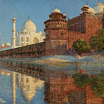 Vasily Vereshchagin - The Taj Mahal. Evening