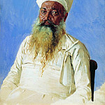 Parsi priest . Bombay. 1874-1876, Vasily Vereshchagin