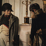 Vasily Vereshchagin - Napoleon and Marshal Lauriston (Peace at any price). 1899-1900